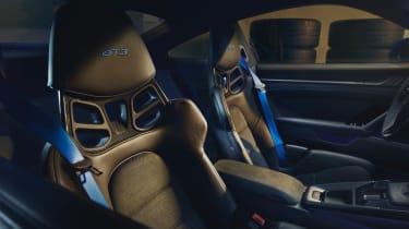 Porsche 911 GT3 - seats