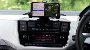SEAT Mii electric UK - infotainment