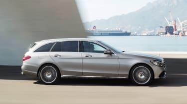 Mercedes C-Class Estate - side