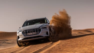 Audi e-tron sand
