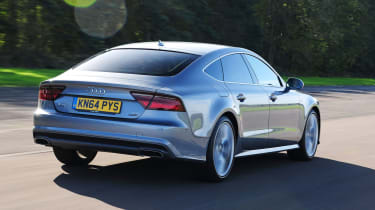 Audi A7 - rear tracking