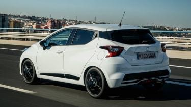 Nissan Micra N-Sport - rear