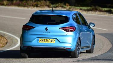 Renault Clio - rear cornering