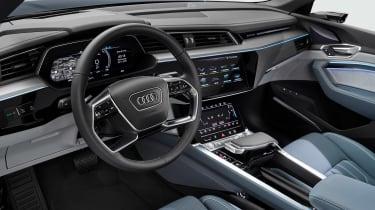 Audi e-tron Sportback - cabin
