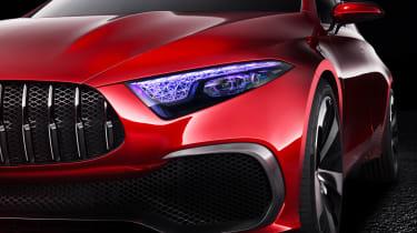 Mercedes Concept A Sedan - front detail