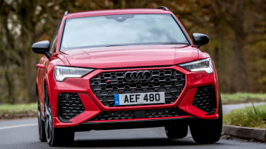 Audi RS Q3 - front cornering