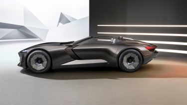 Audi skysphere concept - studio