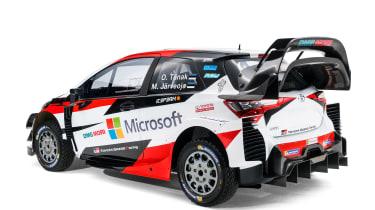 Toyota Yaris WRC - rear