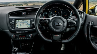 Kia Pro_cee'd GT 2015 - interior