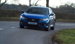 Honda Civic diesel - front