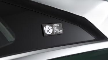Tesla Model S estate design badge