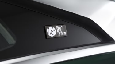 Tesla Model S estate design badge