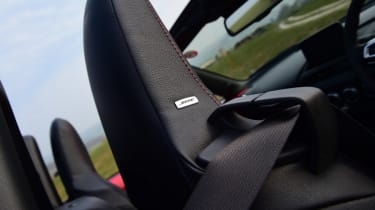 Mazda MX-5 long termer - first report seat detail
