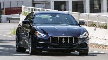 Maserati Quattroporte Diesel 2016 - front tracking 3