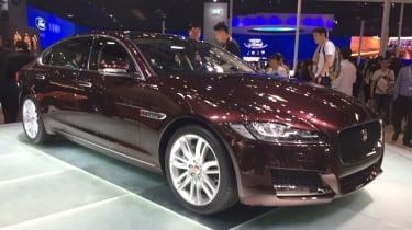 Jaguar XF long wheelbase - Beijing Show - side