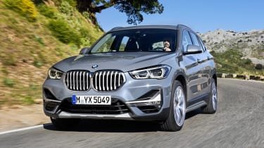 BMW X1 - front action