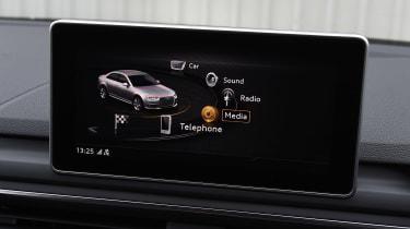 Audi S4 - infotainment screen