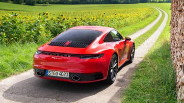 Porsche 911 Carrera - static rear