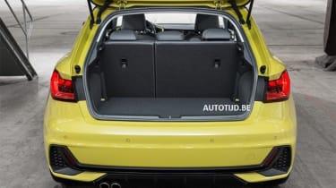 Audi A1 - leak boot