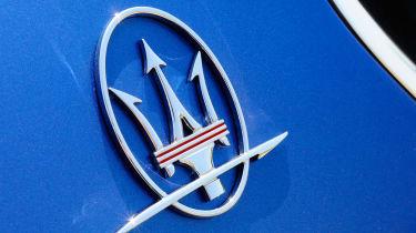 Maserati GranTurismo Sport badge