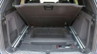 BMW X3 - boot detail