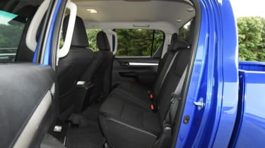 Used Toyota Hilux - rear seats
