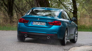 BMW 440i - rear