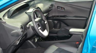 Toyota Prius Plug-in 2016 NY show interior