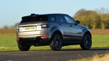 Range Rover Evoque SD4 - rear