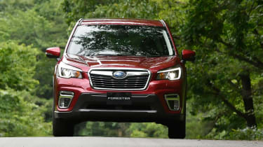 Subaru Forester - full front
