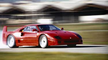 Ferrari F40 front quarter