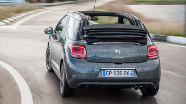 Citroen DS3 Cabrio rear cornering