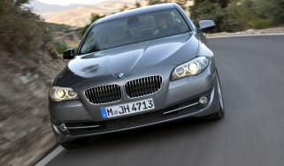 BMW 520d Efficient Dynamics front tracking