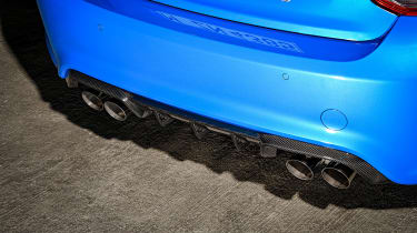 BMW M2 CS - exhausts