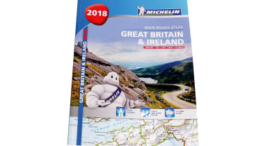 Michelin Great Britain & Ireland Main Roads Atlas 2018