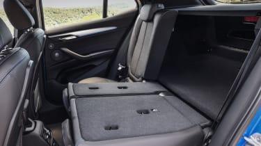 2018 BMW X2 - rear seats folded