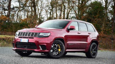 Jeep Grand Cherokee Trackhawk - front static