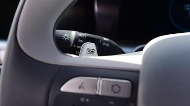 Hyundai Nexo - steering wheel detail
