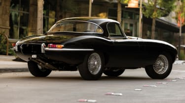 Cool cars: the top 10 coolest cars - Jaguar E-Type rear
