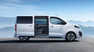 Vauxhall Vivaro Life - side door open