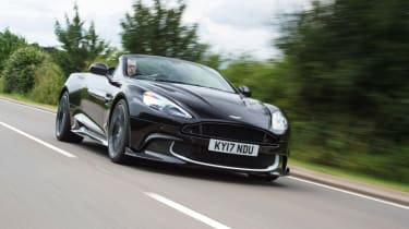 Aston Martin Vanquish S Volante - driving front