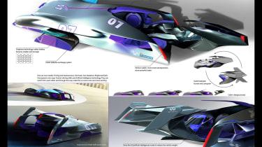 Michelin Design Challenge 2017 - Infiniti Le Mans 2030