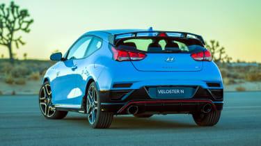 New Hyundai Veloster N - rear