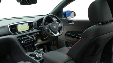 Kia Sportage 48V hybrid - cabin