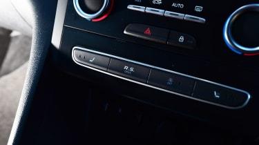 Renault Megane RS - centre console