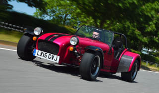 Caterham Seven 420R - front action