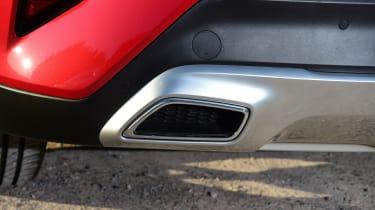 Kia XCeed - exhaust