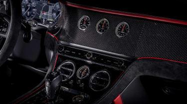 Bentley Continental GT Speed - interior dash