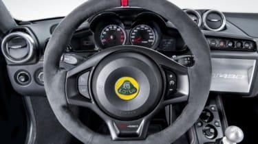 Lotus Evora GT430 - steering wheel