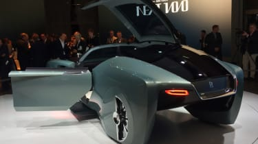 Rolls-Royce Vision Next 100 - rear door open reveal